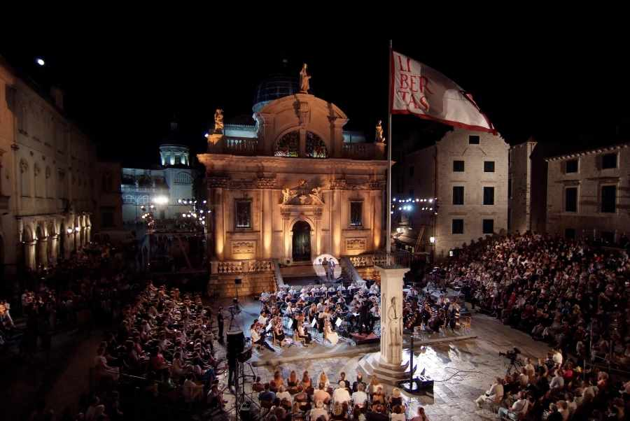 The final evening of the summer 65th Dubrovnik Summer Festival